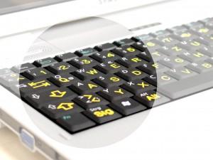 Tastaturen mit Großschrift für Notebook
