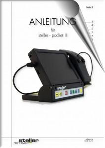 Deckblatt der Anleitung steller-pocket3-HDMI