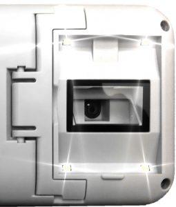 steller Mobilupe - LED-Beleuchtung (abschaltbar)