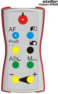 Externes ergonomisches Bedienteil für steller System: Vision Pad/XL