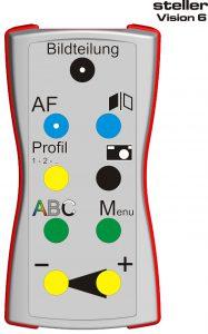 Externes ergonomisches Bedienteil für steller System: Vision Tab