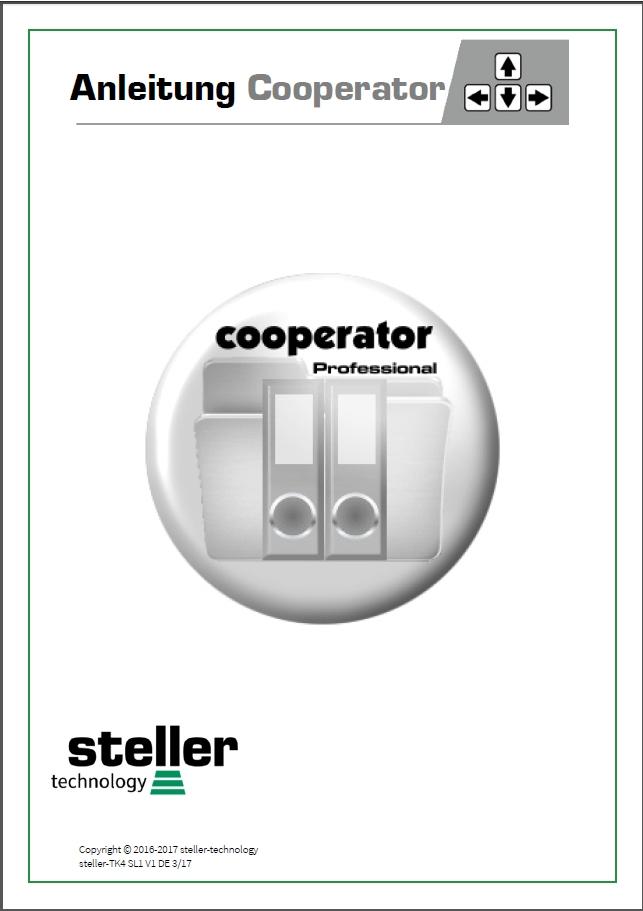 Deckblatt der Anleitung steller-Cooperator