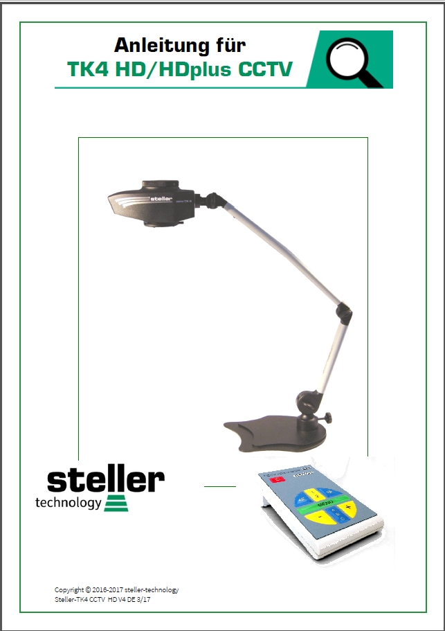 Deckblatt der Anleitung steller-cctv-HD