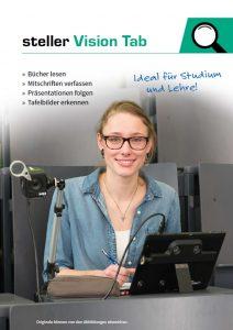 Deckblatt des Prospekt Vision TAB
