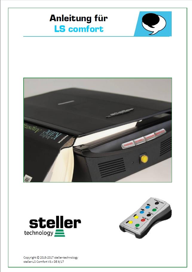 Deckblatt der Anleitung steller-LS comfort