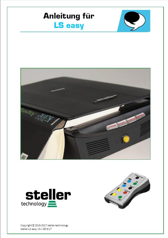 Deckblatt der Anleitung steller-LS easy