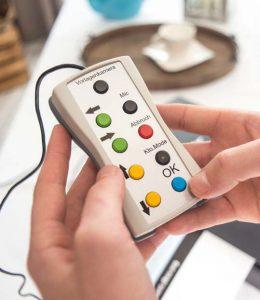 externes USB Control zur Bedienung der vision