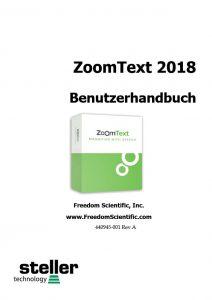 Deckblatt der Anleitung ZT 2018