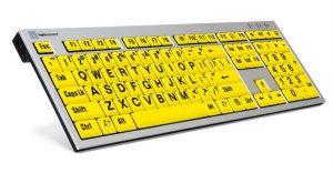 Großbuchstabentastatur