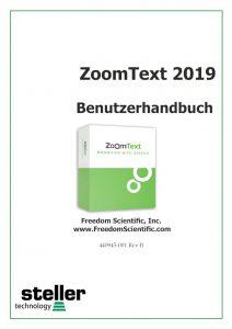 Deckblatt der Anleitung ZT 2019