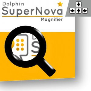 Link zu Software Supernova Magnifier als Bild mit 400x400 Pixel.