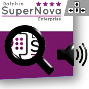 Link zu Software Supernova Magnifier Speech als Bild mit 400x400 Pixel.