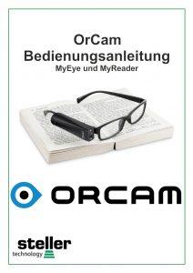 Deckblatt der Anleitung OrCam