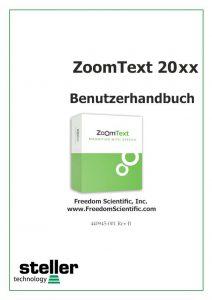 Deckblatt der Anleitung ZT 20xx