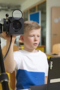 steller - Tafelansicht - Kamera PK7 mit Vision Pad