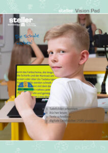 steller - Deckblatt des Prospekt Vision Pad