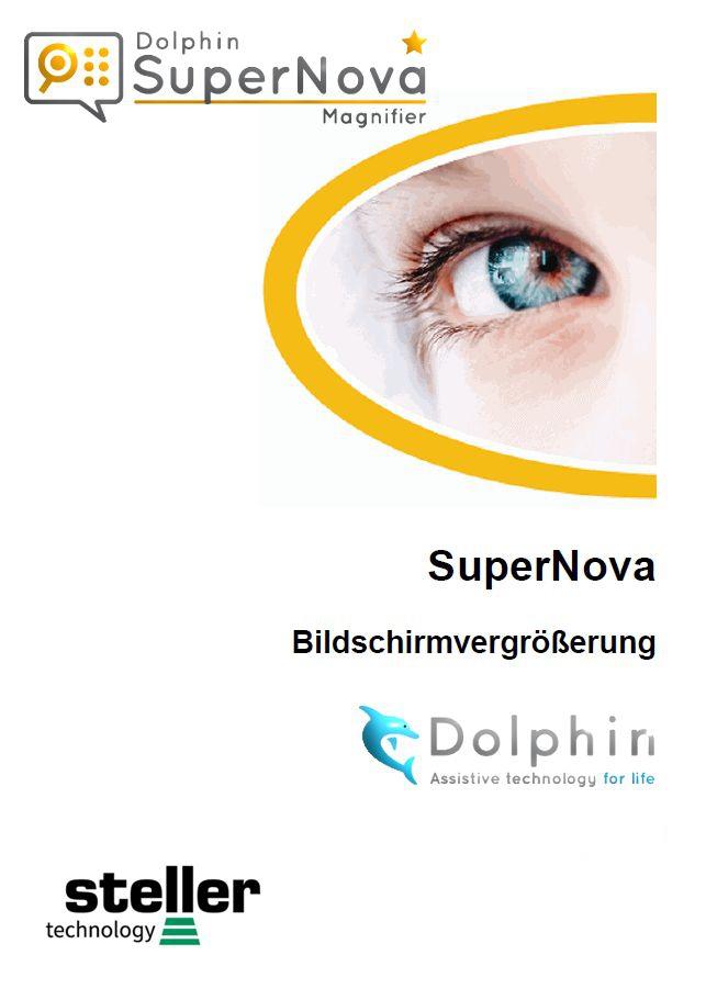 Deckblatt der Anleitung Supernova- Magnifier